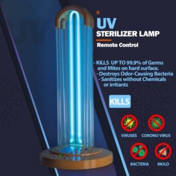 UV Antivírus Fertőtlenítő Lámpa