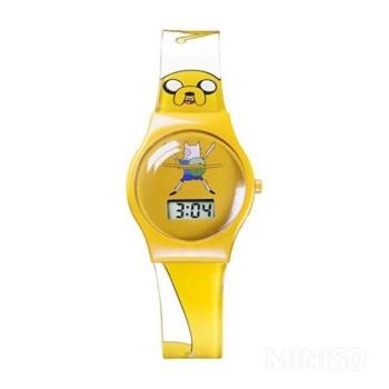 Miniso Kalandra fel-Gyermek óra (sárga)