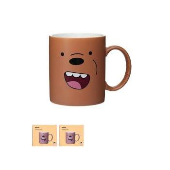 Miniso Medvetesók Kerámia bögre (Grizzly)