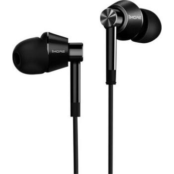 1More Dual Driver In-Ear Headphones sztereó hybrid hallójárati mikrofonos fülhallgató (Fekete)
