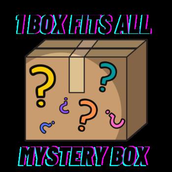 """""""1 Box FITs All"""" Mystery Box zsákbamacska (fitnessz téma)"""