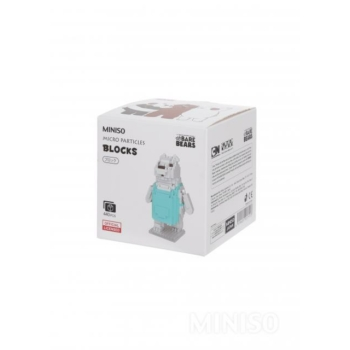 Miniso Medvetesók-Építő kocka