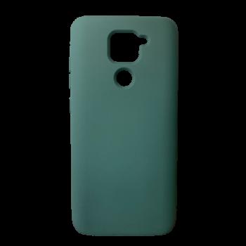 Redmi Note 9 szilikon telefontok (Sötétzöld)