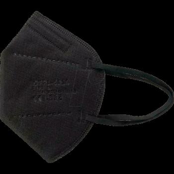 Fekete FFP2 (KN95) 5 rétegű Védőmaszk Black Face Mask (100 db felett)