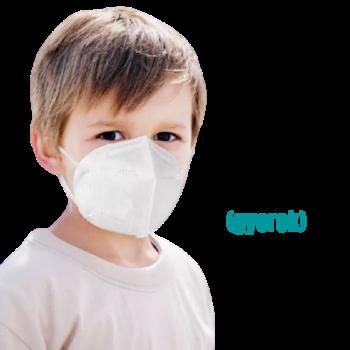 YWSH Gyerek FFP2 (KN95) Védőmaszk Szájmaszk Face mask XS 10 db-os doboz
