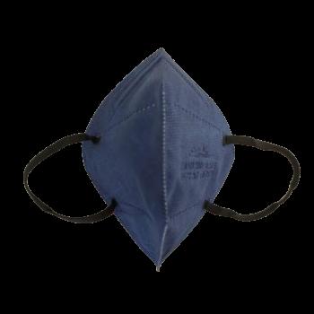 Farmerkék FFP2 (KN95) 5 rétegű Védőmaszk Dark Blue Face Mask