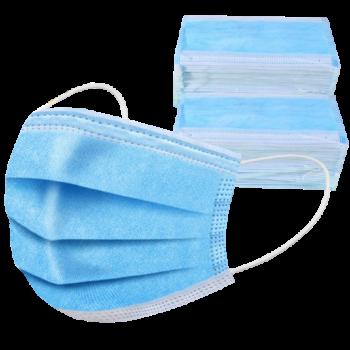 3-rétegű maszk Face Mask (higiéniai, eldobható szájmaszk) 0-250 db