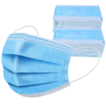 3-rétegű maszk Face Mask (higiéniai, eldobható szájmaszk) 500-1000 db