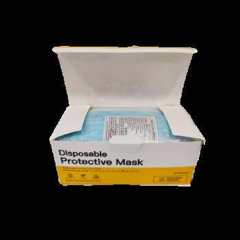 3 rétegű maszk Face Mask (higiéniai, eldobható szájmaszk) 50 db-os doboz
