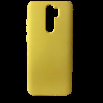 Redmi Note 8 Pro szilikon telefontok (Sárga)