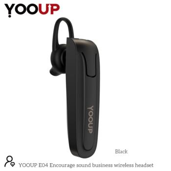 YOOUP E04 Encourage üzleti vezeték nélküli fejhallgató (fekete)