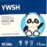 Kép 6/6 - YWSH Gyerek FFP2 (KN95) Védőmaszk Szájmaszk Face mask XS 10 db-os doboz