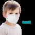 Kép 1/6 - YWSH Gyerek FFP2 (KN95) Védőmaszk Szájmaszk Face mask XS (1-100 db)