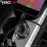 Kép 3/4 - YOOUP C01 Lasting Power kettős portos autós töltőkészlet (Micro-USB, fekete)