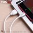 Kép 4/4 - YOOUP L01 Benefit töltő adatkábel Micro-USB (fehér)
