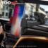 Kép 6/8 - YOOUP S03 Könnyen rögzíthető autótartó telefontartó (piros-fekete)
