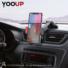 Kép 8/8 - YOOUP S03 Könnyen rögzíthető autótartó telefontartó (piros-fekete)